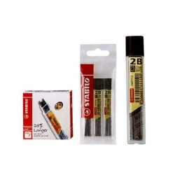 Stabilo 2B Pencil Lead 3 Pack