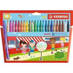 Stabilo Power 24 Fiber-Tip Pen