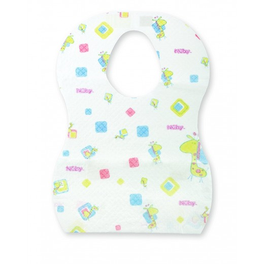 Nuby Disposable Bib 10 Pack