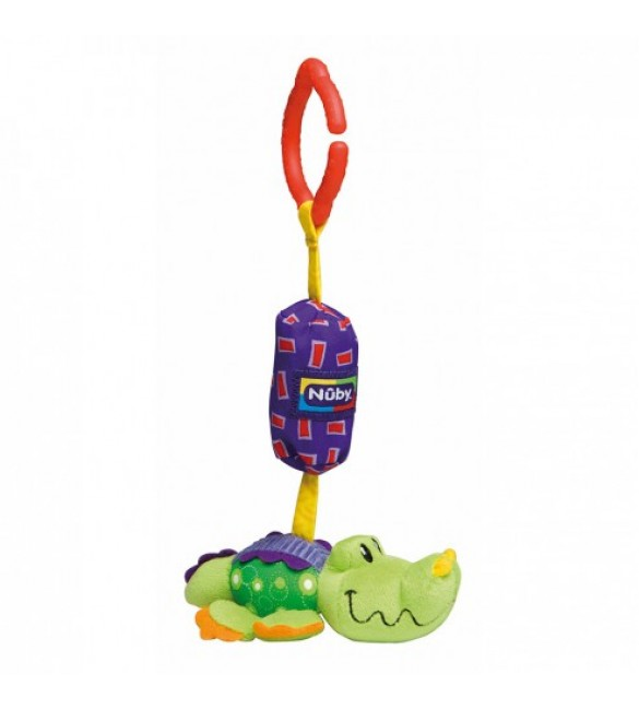 Nuby Safari Chimes for Baby's Car Seat or Pushchair