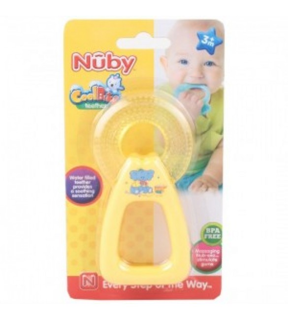 Nuby Coolbite Round Teether with Sterilised Water - 3m+