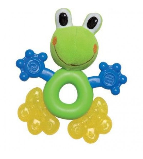 Nuby Coolbite Fun Pal Teether - Frog