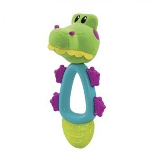Nuby Coolbite Fun Pal Teether - Crocodile