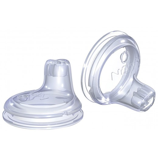 Nuby 2 Pack Replacement Silicone Spouts