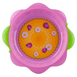 Nuby Flower Child Toddler Plate