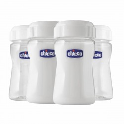 Chicco Breast Milk Containers (4 Pieces)