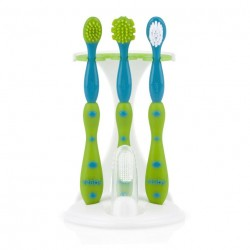 Nuby Toothbrush 3 Piece Set