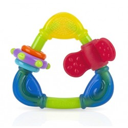 Nuby Spin N' Teethe Teether - Yellow