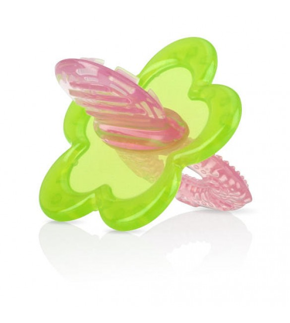 Nuby Chewbies Silicone Teether - Pink