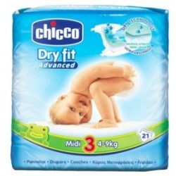 Chicco Dry Fit Plus Midi 4-9 KG