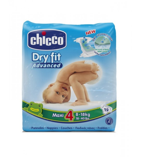 CHICCO DRY FIT PLUS MAXI 8-18KG