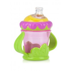 Nuby Twin Handle Cup Flower 210 ml
