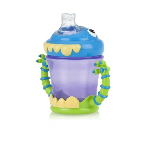 Nuby Monster Twinhandle Cup With Spout