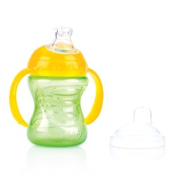 Nuby Swirl No-Spill Cup - 240ml - (Green)