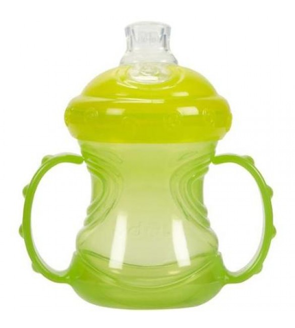 Nuby No Spill 4-in-1 Cup - Yellow