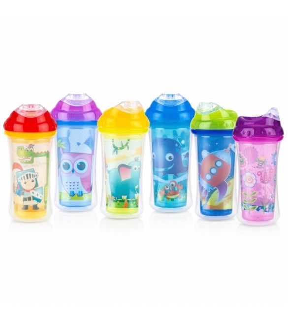 Nuby Insulated Hard Spout Cup (Comes in 6 designs)
