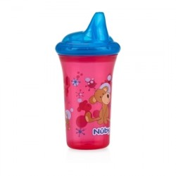 Nuby No-Spill Hard Spout Cup - Red