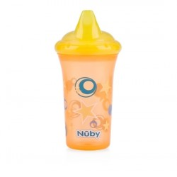 Nuby No-Spill Hard Spout Cup - Yellow