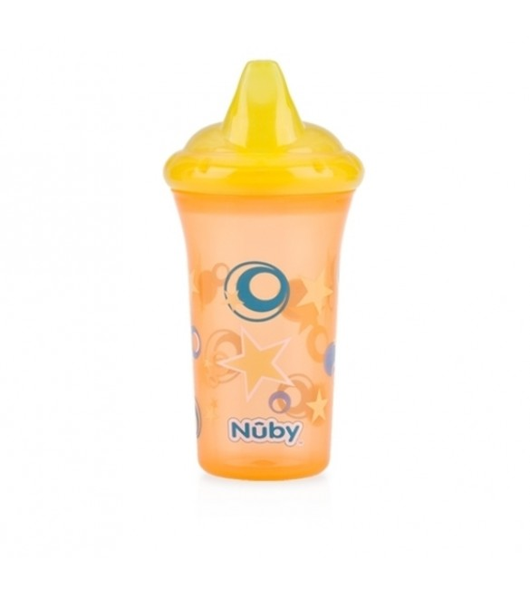 Nuby No-Spill™ Hard Spout Cup - Yellow