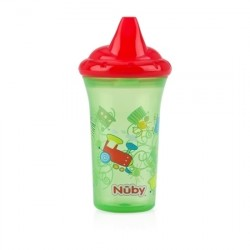 Nuby No-Spill Hard Spout Cup - Green
