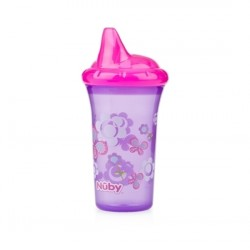 Nuby No-Spill Hard Spout Cup - Purple