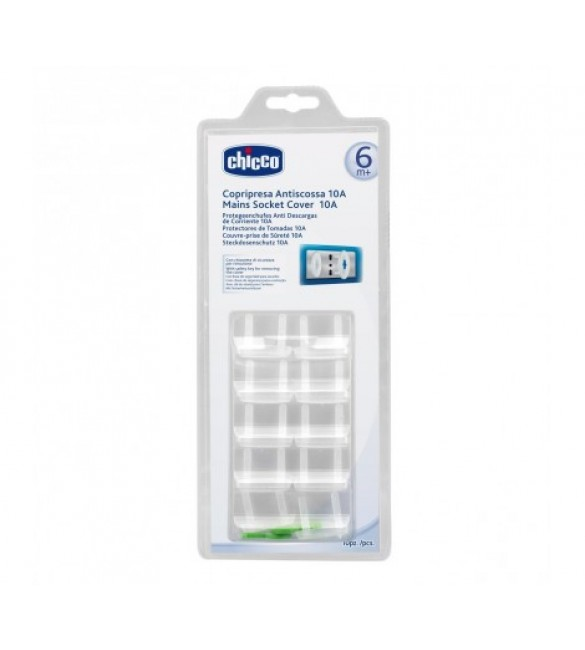 Chicco Main Socket Covers  12 Pcs-10Ampere
