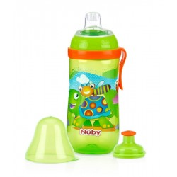 Nuby Free Pop-Up Sipper - Green Turtle