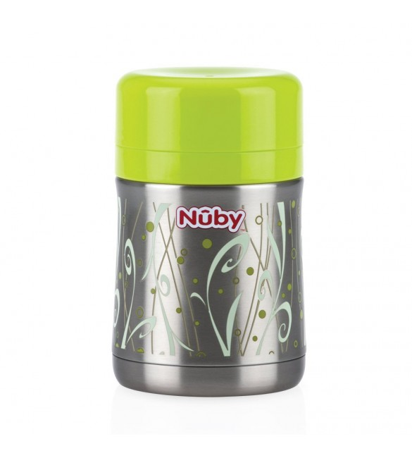 Nuby stainless steel thermos food jar