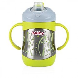 Nuby Stainless Steel Thermos Spout Cup (220)