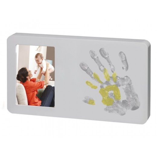 Baby Art You and Me Paint Print Frame