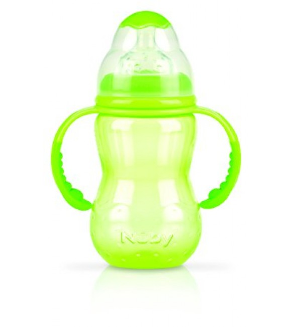 Nuby Training Bottles - 300ml (Green)