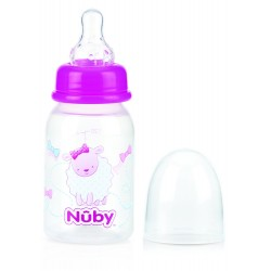 Nuby Feeding Nurser - Purple Sheep (120ml)