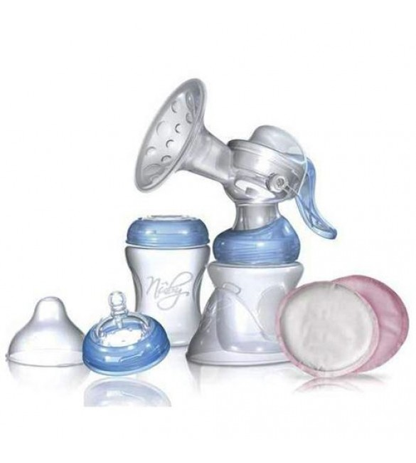 Nuby SoftFlex 2-N-1 Manual Breast Pump Set