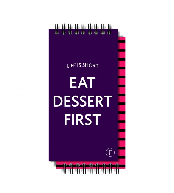 Eat Dessert First To-Do-List