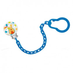 NUK Disney Winnie the Pooh soother chain (Blue)