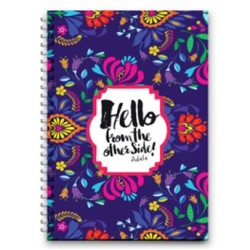 Mofakera Medium - Hello Wire Notebook - 100 Pages - 23x17cm