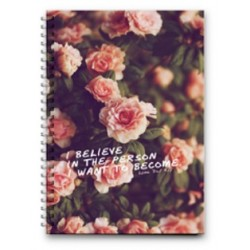 Mofakera - I Believe Wire Notebook - 100 Pages - 23X17cm