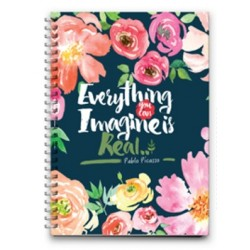 Mofakera Big - Everything You Can Imagine Is Real Notebook Wire - 26x21cm 120Page