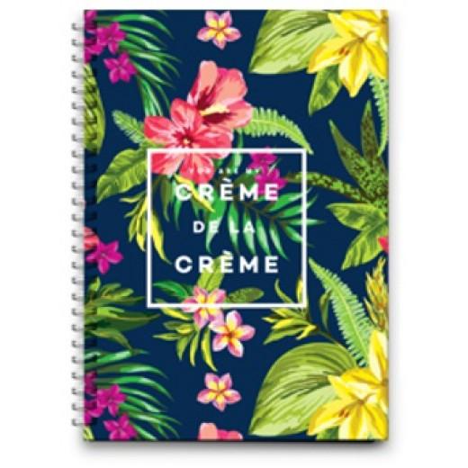 Notebook Wire Small - Creme De Le Creme - 16x11.5cm