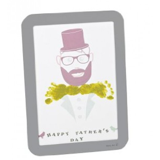 Baby Art Happy Frame - Father's Day