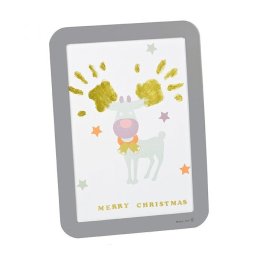 Baby Art Happy Frame - Christmas Time