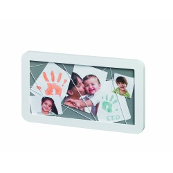 Baby Art Memory Board (White & Grey)