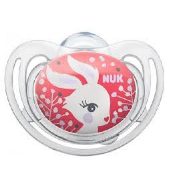 NUK Freestyle Soother Stage 2 (Pink Rabbit)