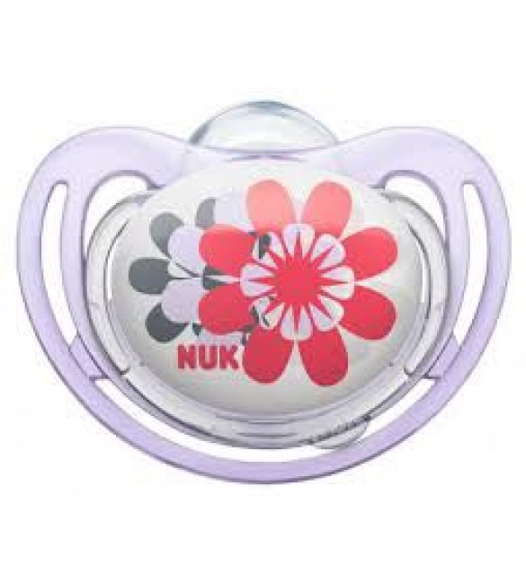 NUK Freestyle Soother Stage 2 (2 Flowers)