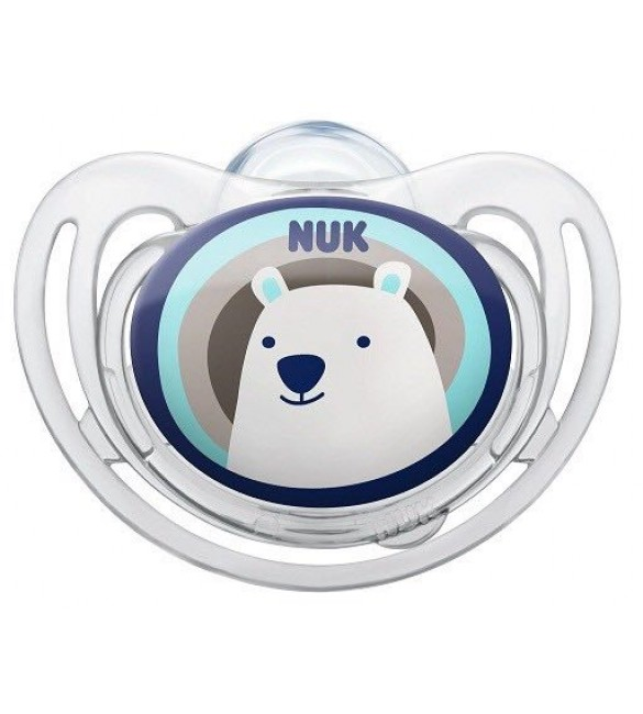 NUK Freestyle Soother Stage 2 (Blue Bear)