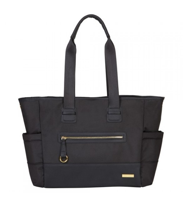 Skip Hop Chelhsea 2-in1 Downtown Chic Diaper Tote - Black