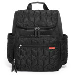 Skip Hop Forma Pack and Go Diaper Backpack, Black