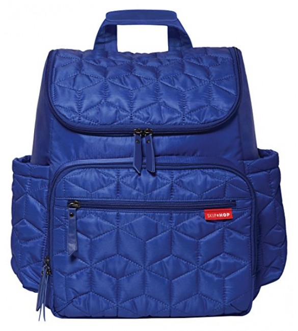 Skip Hop Forma Pack and Go Diaper Backpack, Indigo
