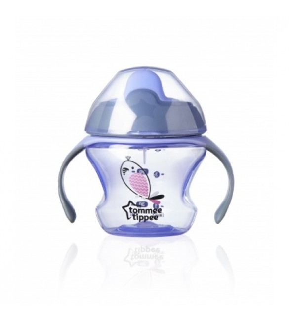 Tommee Tippee - First Trainer Cup 150ml (4m+) -Purple