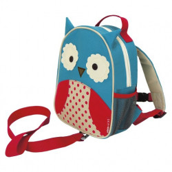 Skip Hop Zoo Little Kids & Toddler Harness Backpack, Owl